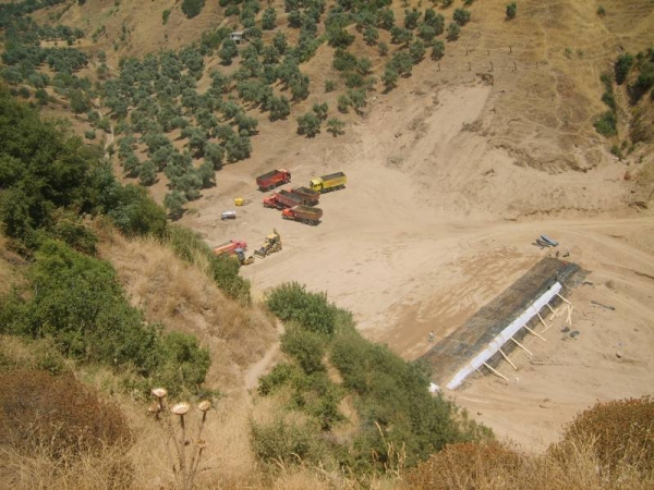 Aydın Belediyesi katı atık arıtma tesisi
