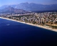 Antalya Konyaaltı sahil düzenlemesi